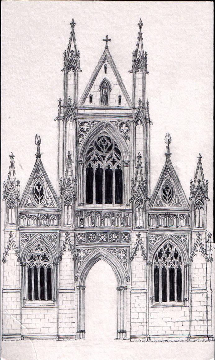 gothic architecture elements - 692×1155