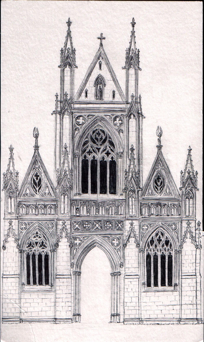 Gothic Chapel Design By Dashinvaine