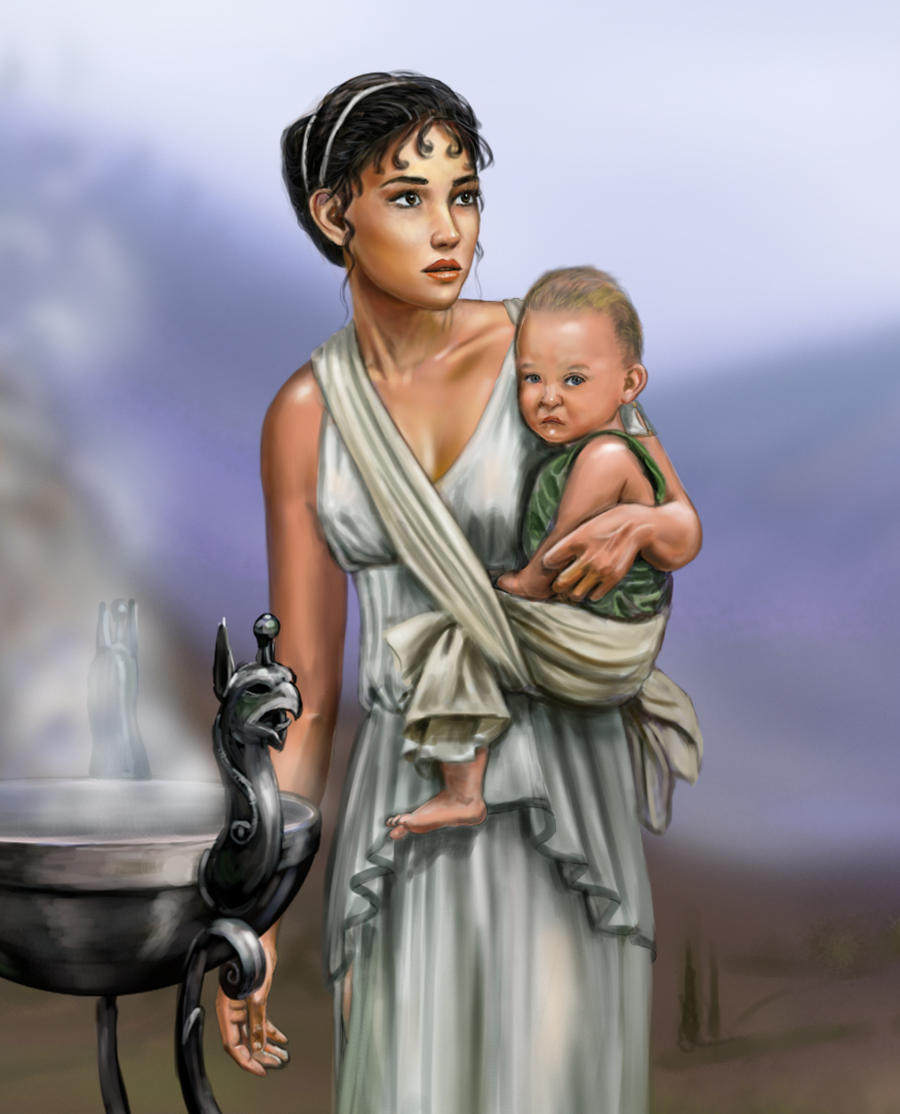 the role of the women in greek mythology essay Diana of themyscira is an amazon, part of the mysterious tribe of women  warriors described in greek mythology, and the backdrop of the.