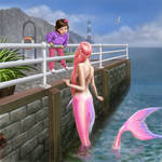 Adora and the Pink Mermaid