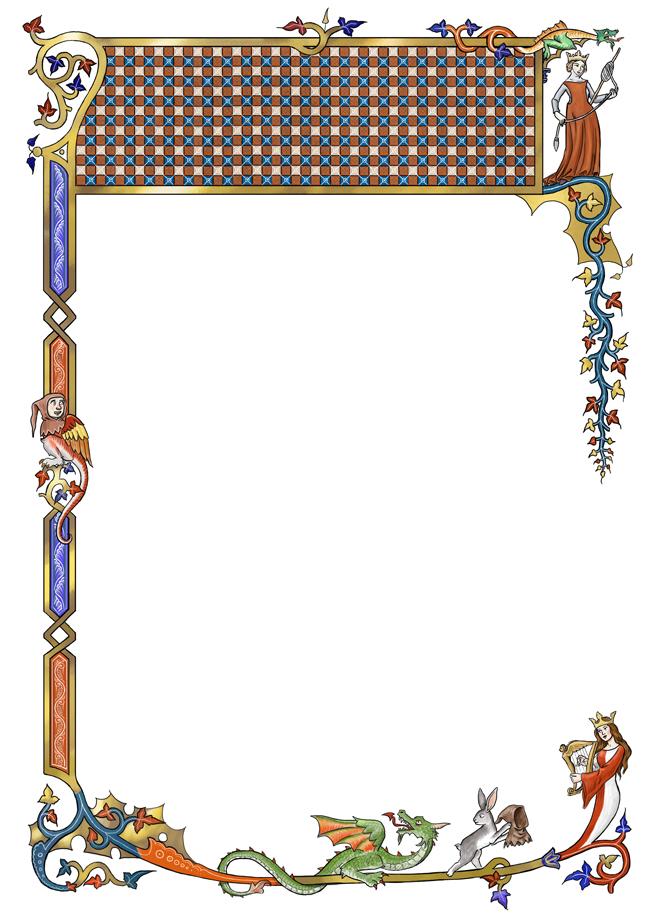 free clip art medieval borders - photo #23