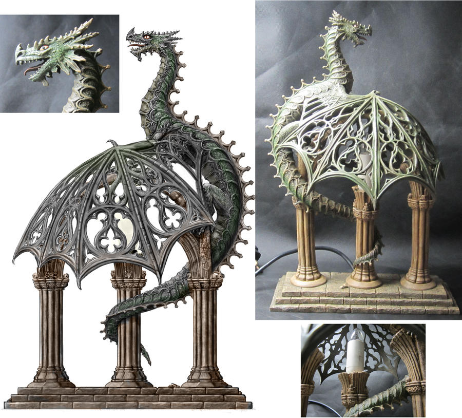 Dragon Lamp, Nemesis Now by dashinvaine