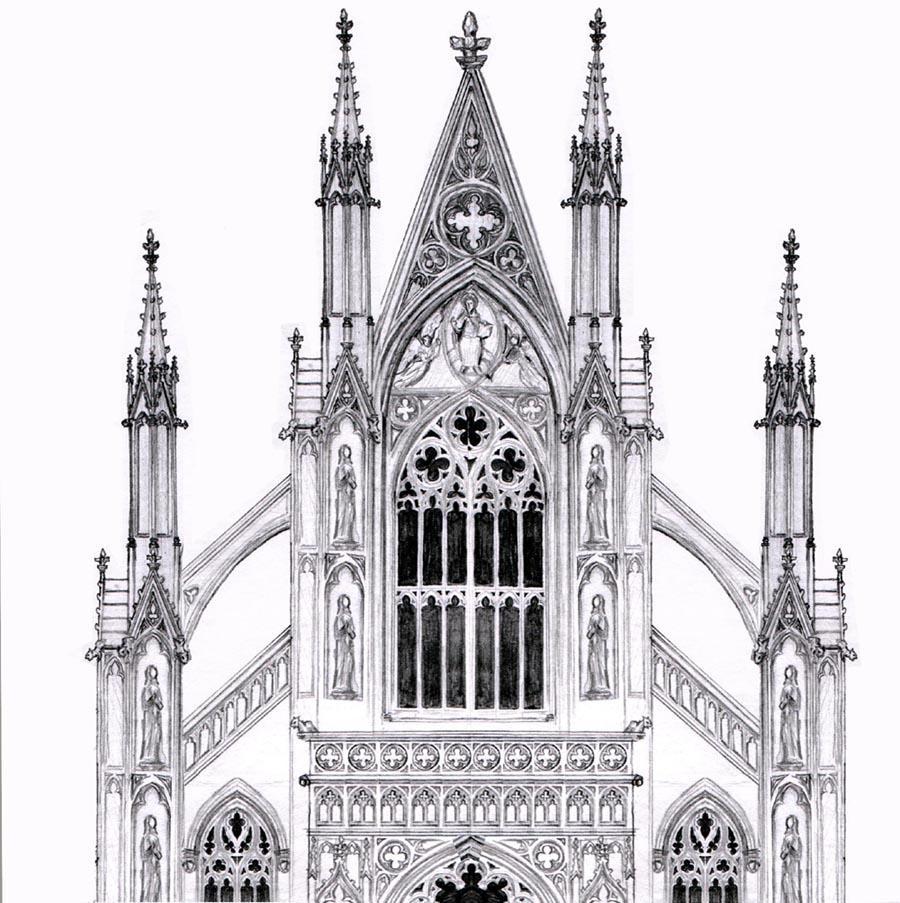 Gothic Facade By Dashinvaine On Deviantart