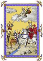 Pope Leo and Attila by dashinvaine