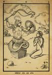 Alchemy woodcut Abraxas
