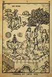 Alchemy woodcut Terebilis est locus iste