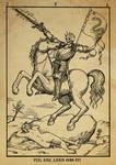 Alchemy woodcut Vita sine Libris mors est