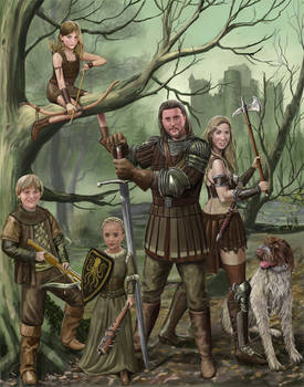 Outlaw Family by dashinvaine
