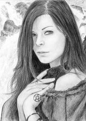Morgana Le Fay by dashinvaine