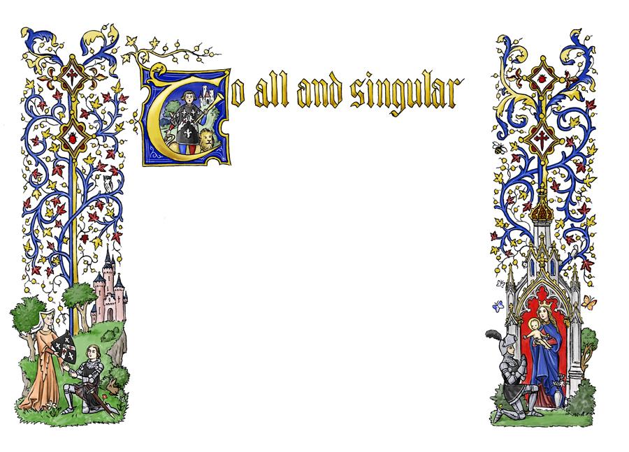 free clip art medieval borders - photo #25
