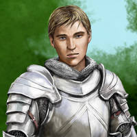 Chivalrous Knight by dashinvaine