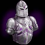 Amethyst Inlaid Armour