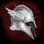 Crow Winged Helmet