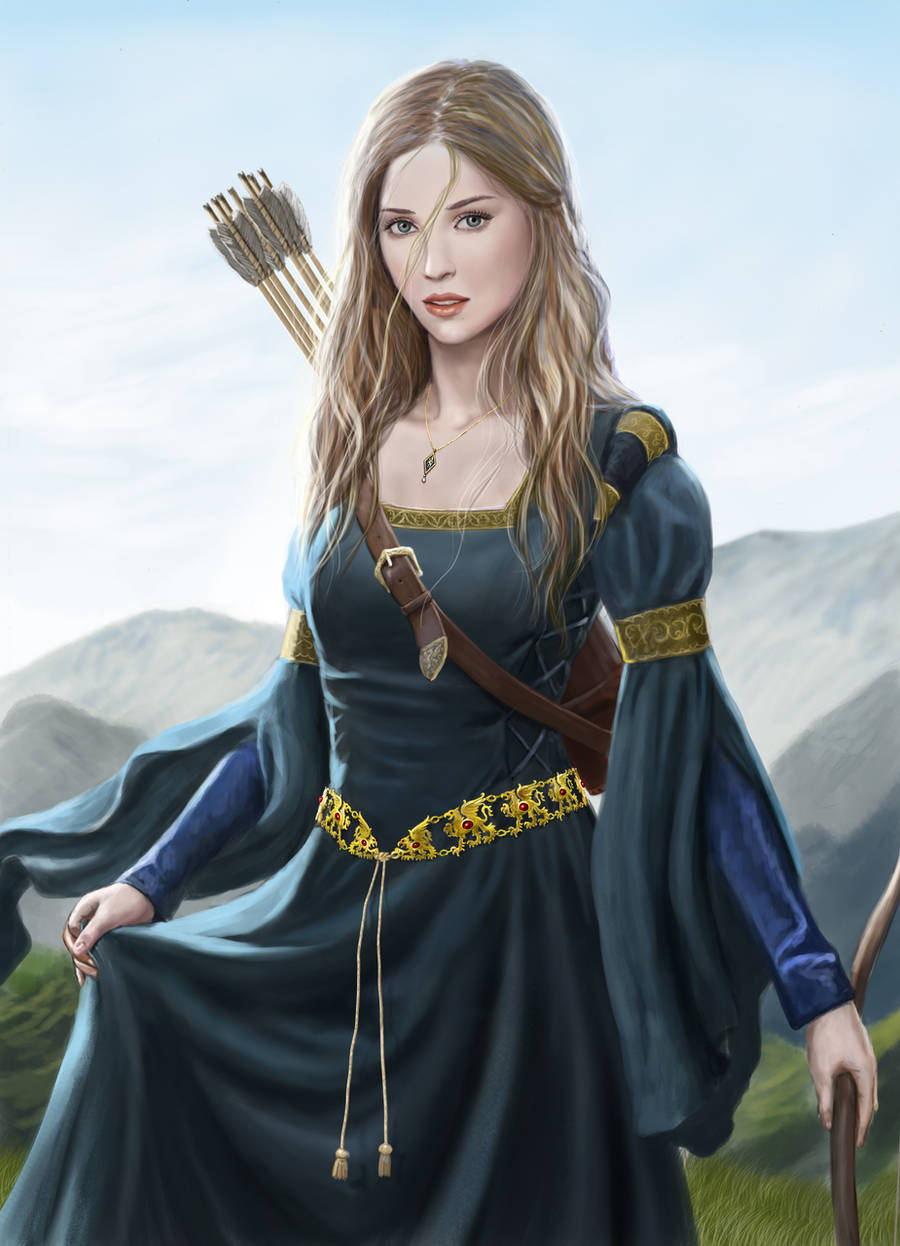 Sofia from Harbinger Chronicles by dashinvaine