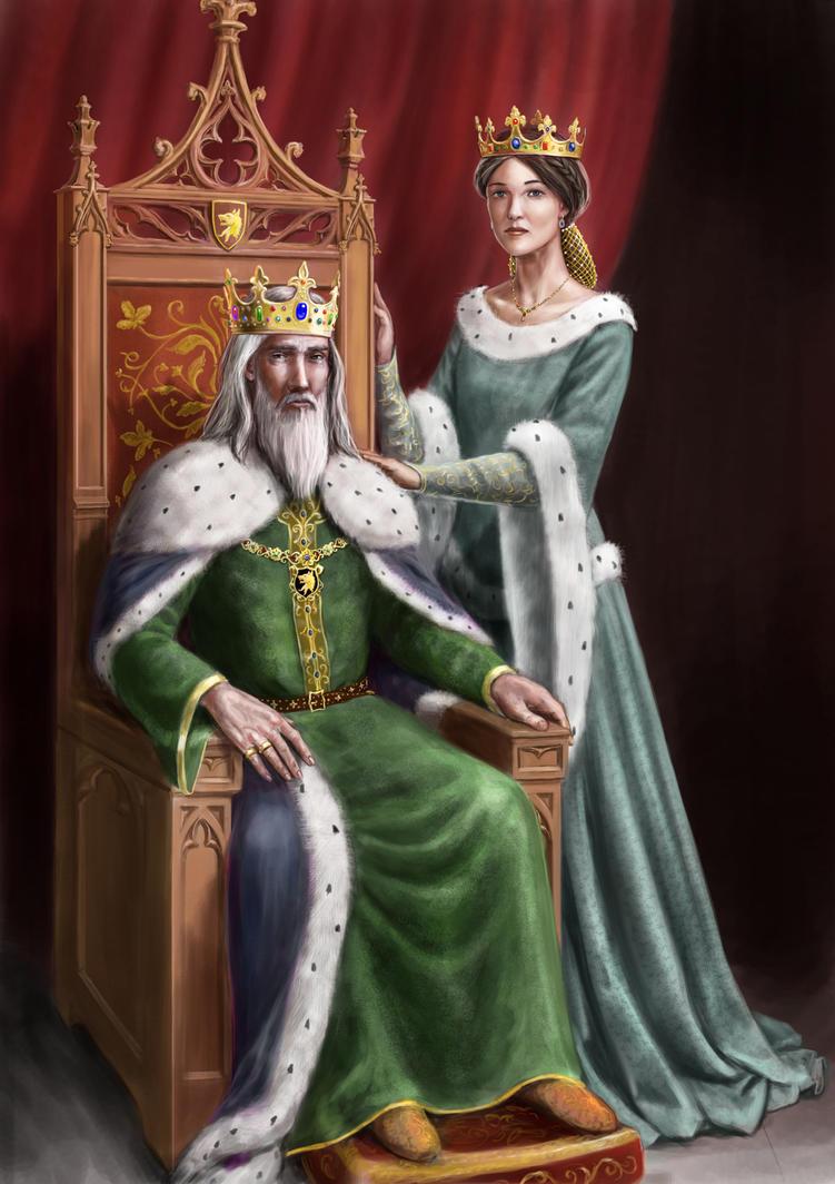 King And Queen By Dashinvaine On DeviantArt