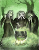 Witches by dashinvaine