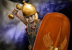 Roman Hastatus by dashinvaine