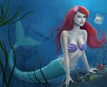 The Little Mermaid by dashinvaine