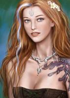 Lynn d'Vadalis- silver flame version. by dashinvaine