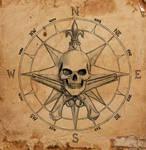 Pirate Compass symbol