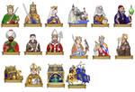 Salernum characters