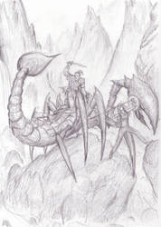 The Wrong Sort of Scorpion by dashinvaine