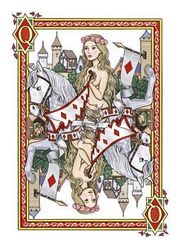 Lady Godiva Queen of Diamonds