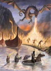 Dragon Crossing by dashinvaine