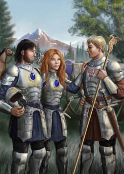 Trio In Armour
