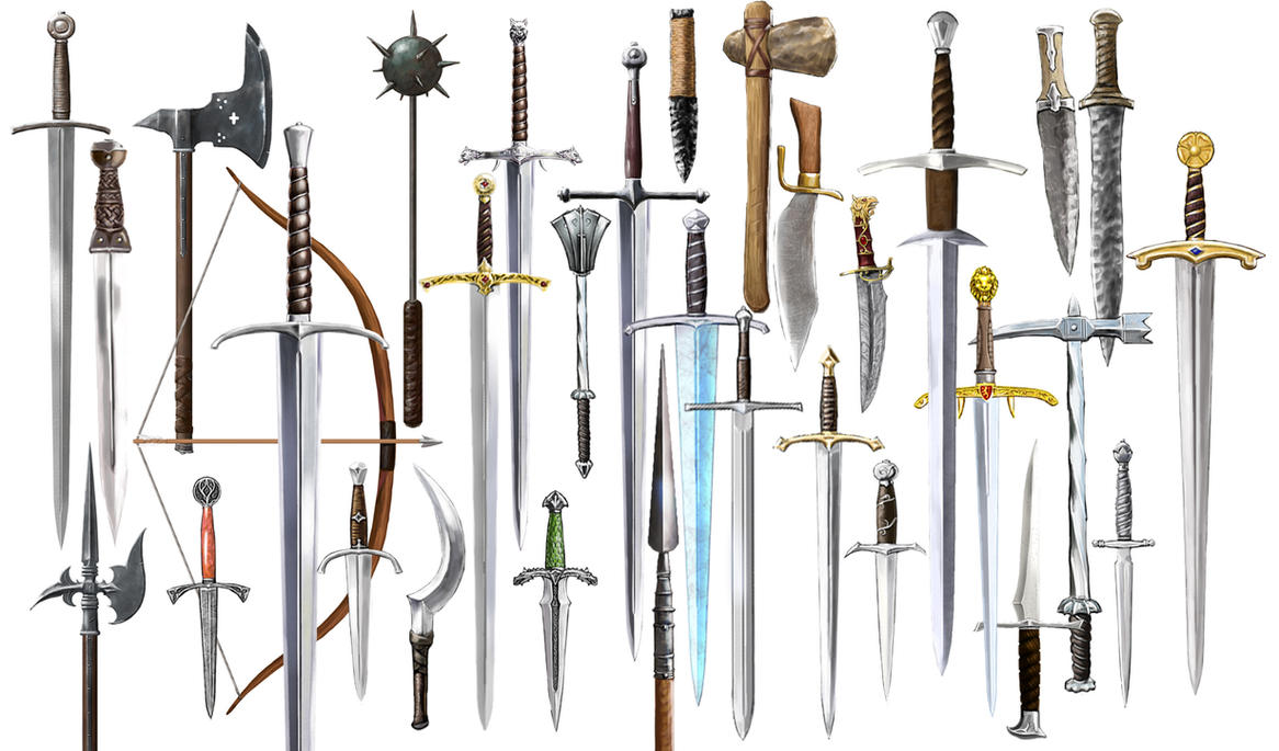 Weaponry by dashinvaine
