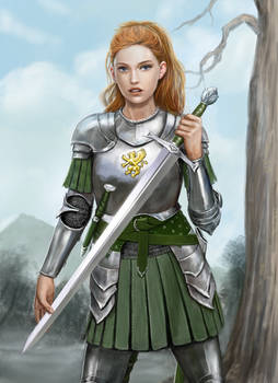 Emma in Armour