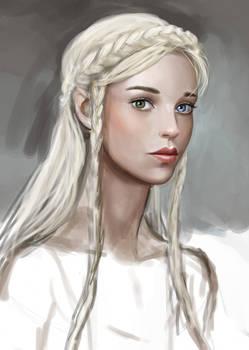 Abortive Portrait AKA Kseniya Mk 1