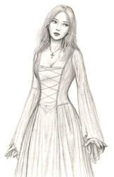 Medieval maid by dashinvaine