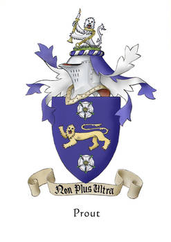 Heraldry- Prout coat of arms