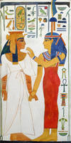 Nefertari and Imentet