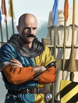 Bald Headed Knight