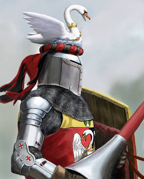 Knight With Swan Crest