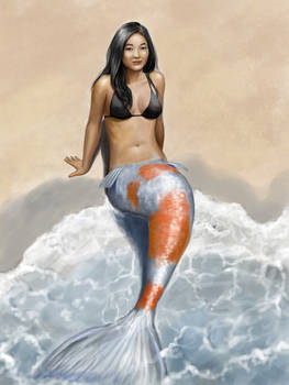 Mermaid With Koi tail