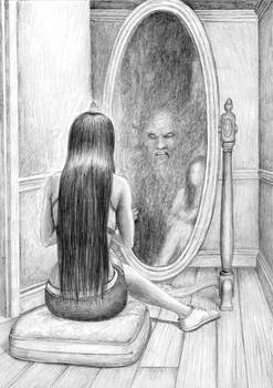 Ghoul In Mirror