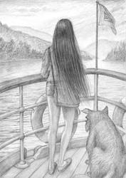 Ankerita on ferry