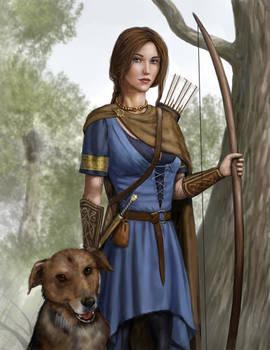 Celtic Huntress
