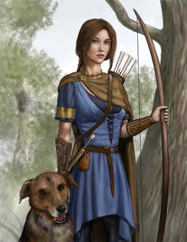 Celtic Huntress