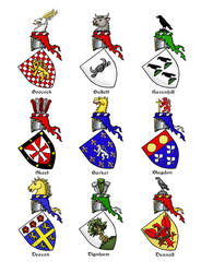 Heraldic Roll Page 1
