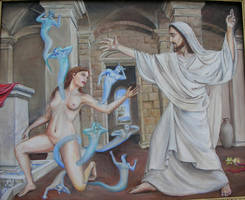 Expulsion of Demons by dashinvaine