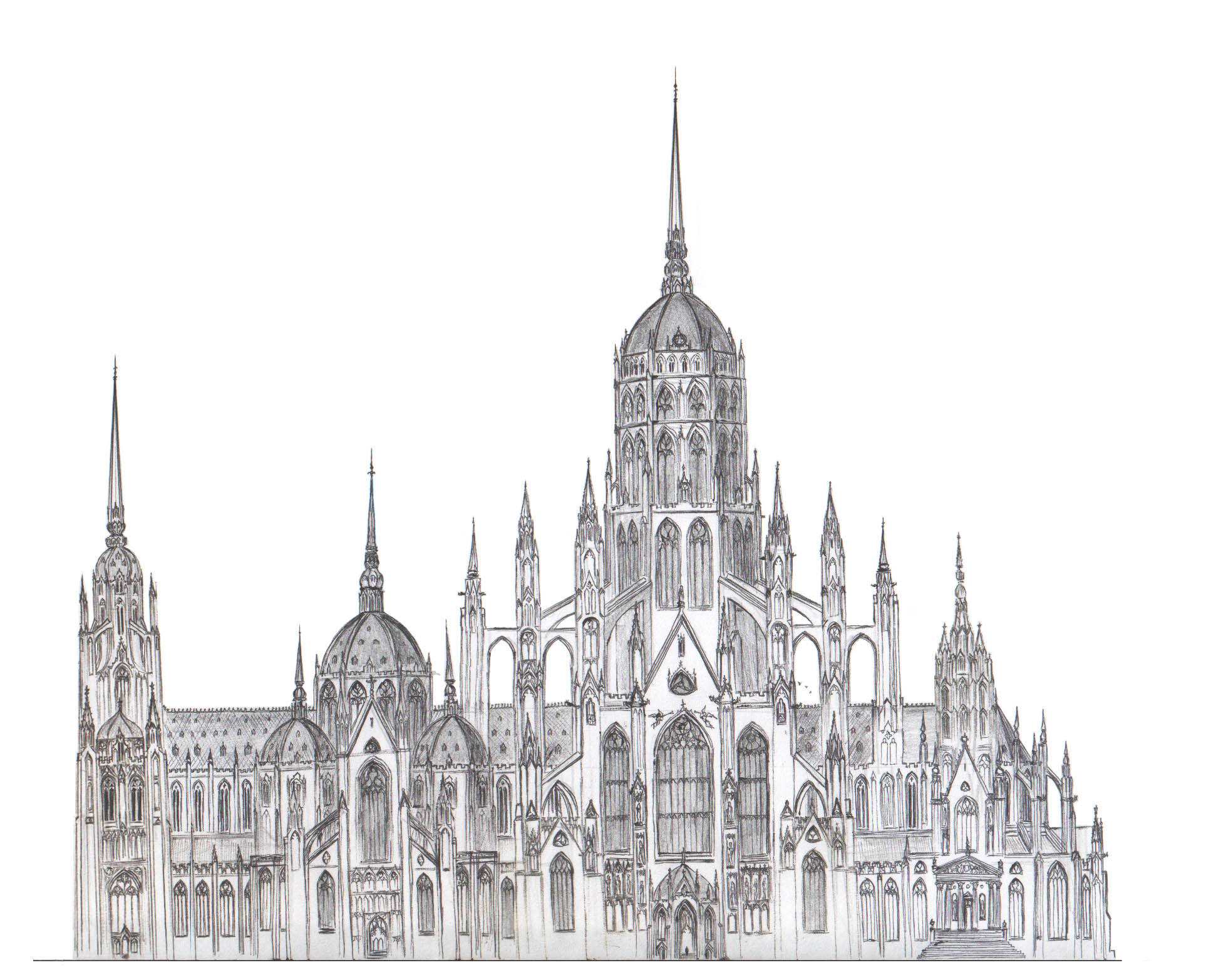 Mega Cathedral By Dashinvaine