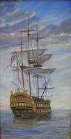 HMS Vanguard by dashinvaine