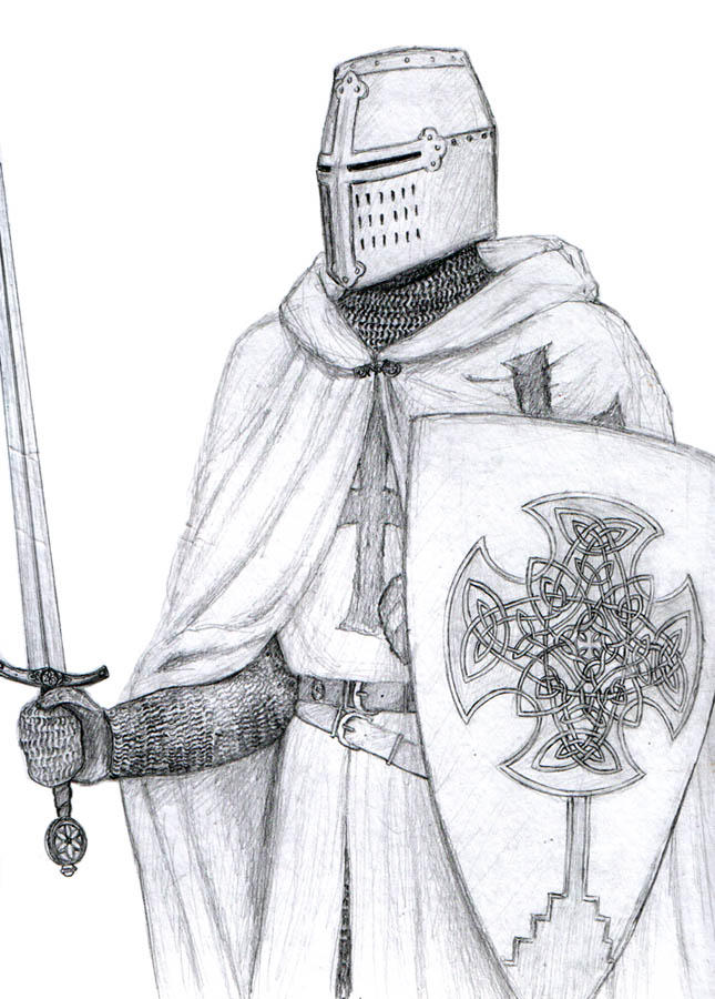 Celtic Templar by dashinvaine