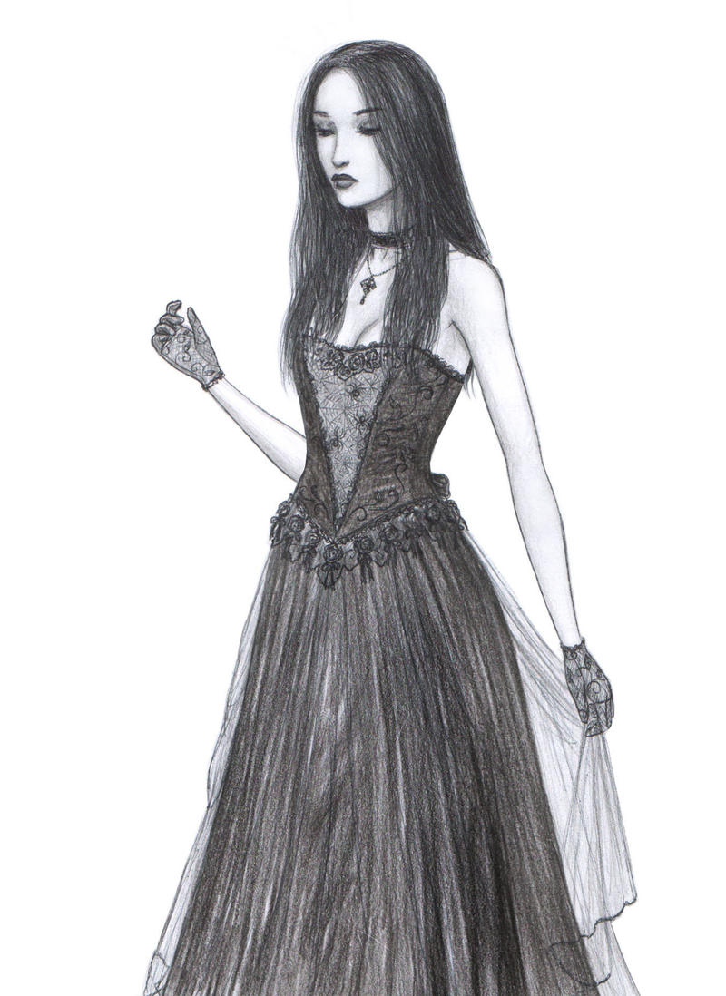 Gothic Girl Drawings