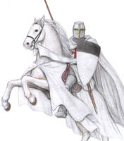 Templar on Rearing Horse fin by dashinvaine