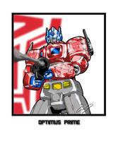 OPTIMUS PRIME by O-O-P